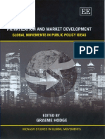 Hodge 2006 Privatisation and Market Development Global Movements in Public Policy Ideas