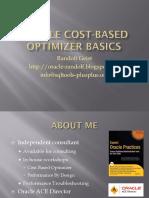 Oracle Cost-Based Optimizer Basics