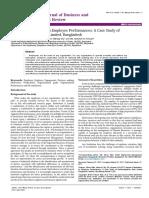Impact of Motivation on Employee Performances a Case Study of Karmasangsthan Bank Limited Bangladesh Good