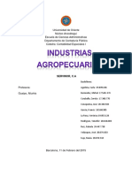 INDUSTRIAS AGROPECUARIAS