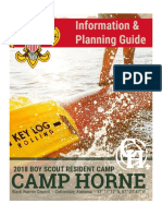 Camp Horne 2018 Boy Scout Information and Planning Guide