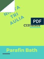 Parafin Bath