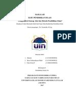 Kelompok 8_Menganalisis Konsep Alat Dan Metode Pendidikan Islam