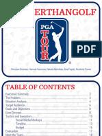 pga tour book print
