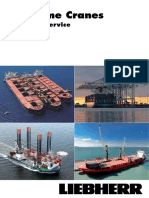 Liebherr Customer Service Maritime Cranes Brochure English