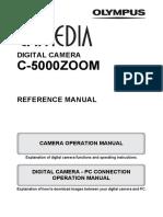 Olympus c 5000 Manual