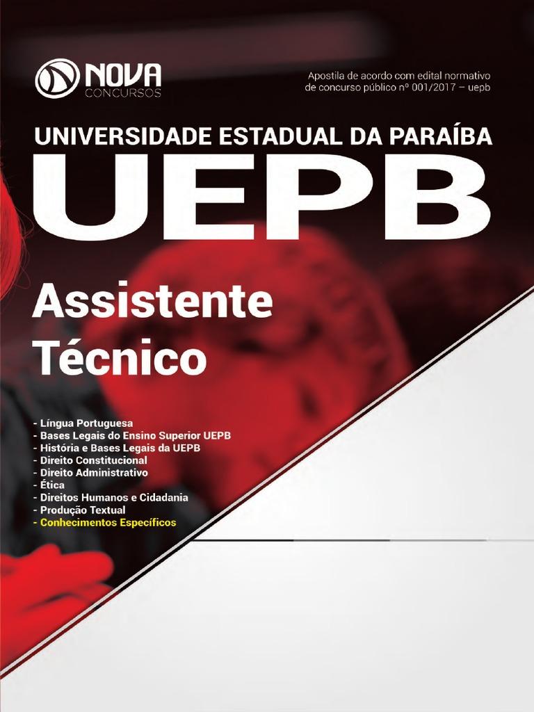 fb20eb2f37 Apostila Nova Concursos uepb.PDF
