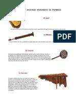 Nstrumentos Musicales Folkloricos de Guatemala