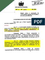 Autonomia Financeira - Lei 7.643 de 2004