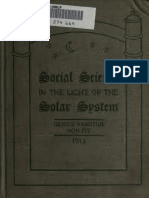 Social Science in the Light of the Solar System-Jean Francis Leroy