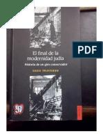 Enzo Traverso - El final de la modernidad judía - FCE - 2014.pdf