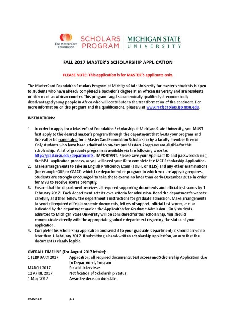 mcfgraduateapp_2017 | Graduate School | University And