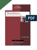 Introducao a Homiletica