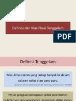 Definisi Dan Klasifikasi Tenggelam