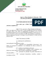 Lei Nº 10.488 Plano Estadual de Educação 2 1