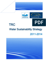 Water Sustainability Strategy 2011-2014