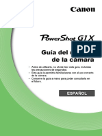 PowerShot G1 X Camera User Guide ES