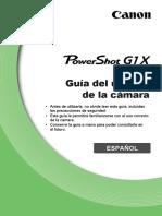 PowerShot G1 X Camera User Guide ES