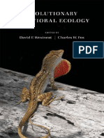 David Westneat, Charles Fox-Evolutionary Behavioral Ecology-Oxford University Press (2010)