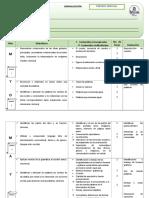 Jornalizacion 1ero Grado II y III Parcial Espanol
