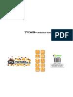 TW300R+ Guia do Usuário PT