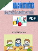 TALLER  DE EDUCACIÓN MATEMÁTICA