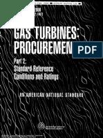ASME 3977-2-2000 Gas Turbines - Std Ref