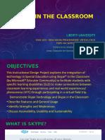 skype in the classroom presentation sample macro disable