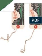 Yosemite Baggage Tags