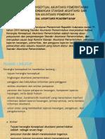 Kerangka Konseptual Akuntansi Pemerintahan Serta Pengembangan Standar Akuntansi