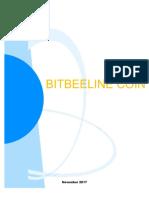 Bitbeeline Coin White Paper