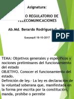 Marco Regulatorio de Telecomunicaciones