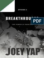 JY Episode 2 Breakthroughs