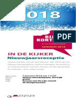'Bijt in Kortrijk' Bijtkalender Januari 2018
