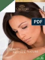Catalogo General Cósmotologia de Productos Lakshmi