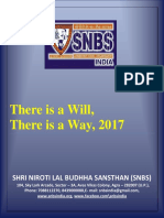 There is a Will, There is a Way, 2017