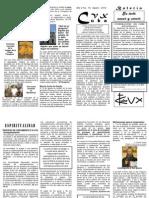 Boletín No. 16 CVX CUBA Agosto 2010