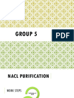 Group 5 - NaCl Purification and Synthesis of KNO3.pptx