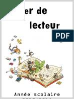 Pages de Garde Cahier Lecture