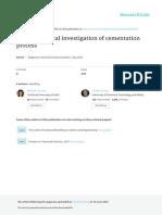 Electrochemical Investigation of Cementation BCC 48 B 2016-91-95 Tzaneva