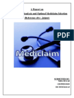 MBA - Report Mediclaim