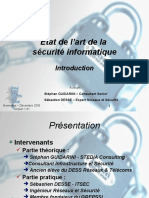 0_Etat de l'Art de La s%E9curit%E9 Informatique - Introduction - V 1.01