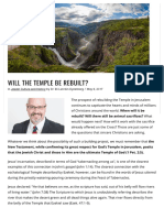Will the Temple Be Rebuilt_ - Israel Study Center