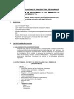 Estructura Del Anteproyecto de Investigación 2017 II