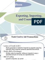 eXporting and Importing procedures