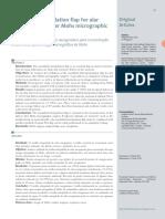 v6 Retalho Interpolado Do Sulco Nasogeniano Para Reconstrucao Da Asa Nasal Apos Cirurgia Micrografica de Mohs