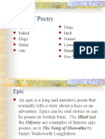 Types of Poetry-Updated