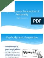 Yr11- PsyDynamic Personality