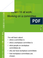 Committees Powerpoint