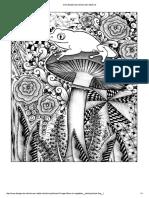 Coloring-Forest-frog_jpg in Fiori e Vegetazione _ Disegni Da Colorare Per Adulti